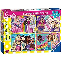 Barbie - 4x 100pc Jigsaw Puzzle Bumper Pack