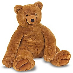 Melissa & Doug - Jumbo Brown Teddy Bear - Plush