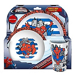 Spider-man - Ultimate Spider-Man Tumbler Bowl and Plate Set