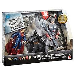 Justice League - Batman, Steppenwolf, Superman 3 Pack Figures