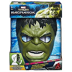 The Avengers - Marvel Thor: Ragnarok Hulk Out Mask