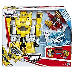 Transformers - Playskool Heroes Transformers Rescue Bots Knight Watch Bumblebee