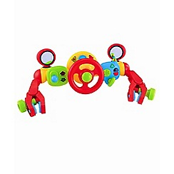 Early Learning Centre - Lights and Sounds Buggy Driver - Red