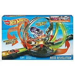 Hot Wheels - Roto Revolution Track Set