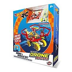 Hot Wheels - Drone Racerz Drone & Vehicle Set