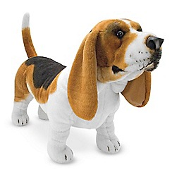 Melissa & Doug - Basset hound dog giant stuffed animal