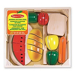 Melissa & Doug - Cutting food - wooden play food