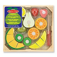 Melissa & Doug - Cutting fruit - wooden play food