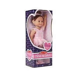 Melissa & Doug - 'Victoria' - 14-inch ballerina doll