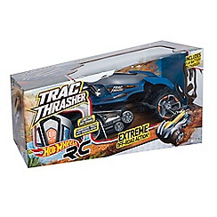 Hot Wheels - Nikko Remote Controlled Trac Thrasher - Blue