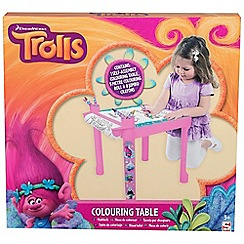 Trolls - Trolls Colouring Table