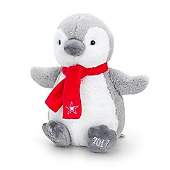 Keel - 27cm my first Christmas penguin 2017 soft toy