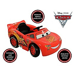 Disney Cars - 3 6V McQueen Battery Operated Ride On