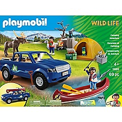 Playmobil - Outdoor Camping Adventure Club Set - 5669