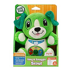 Leapfrog - Sing & snuggle scout soft toy