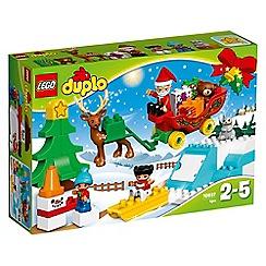 LEGO - Duplo Santa's Winter Holiday - 10837