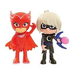 PJ Masks - Light up figure 2pk - owlette & luna girl wave 1