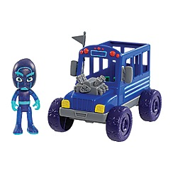 PJ Masks - Vehicle & Figure - Night Ninja Bus