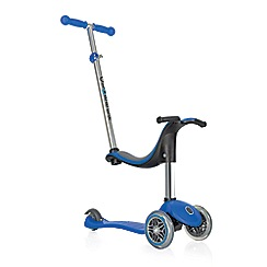 Globber - Blue 4 in 1 scooter