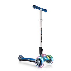 Plum - Blue light up scooter