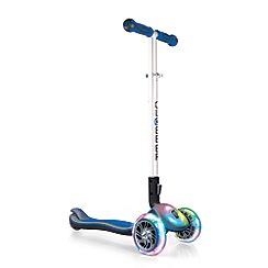 Globber - Blue light up scooter