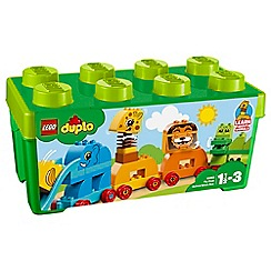 LEGO - 'DUPLO My First Animal Brick Box' set - 10863