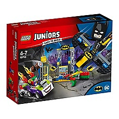 LEGO - 'Juniors Super Heroes The Joker™ Batcave Attack' set - 10753