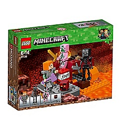 LEGO - 'Minecraft - The Nether Fight' set - 21139