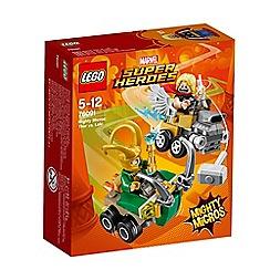 LEGO - 'Marvel Super Heroes - Mighty Micro Thor vs. Loki' set - 76091