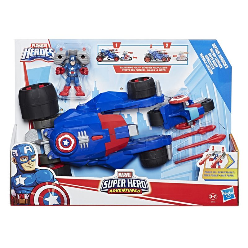 Captain America - 'Marvel Super Hero Adventures - Captain America' Set