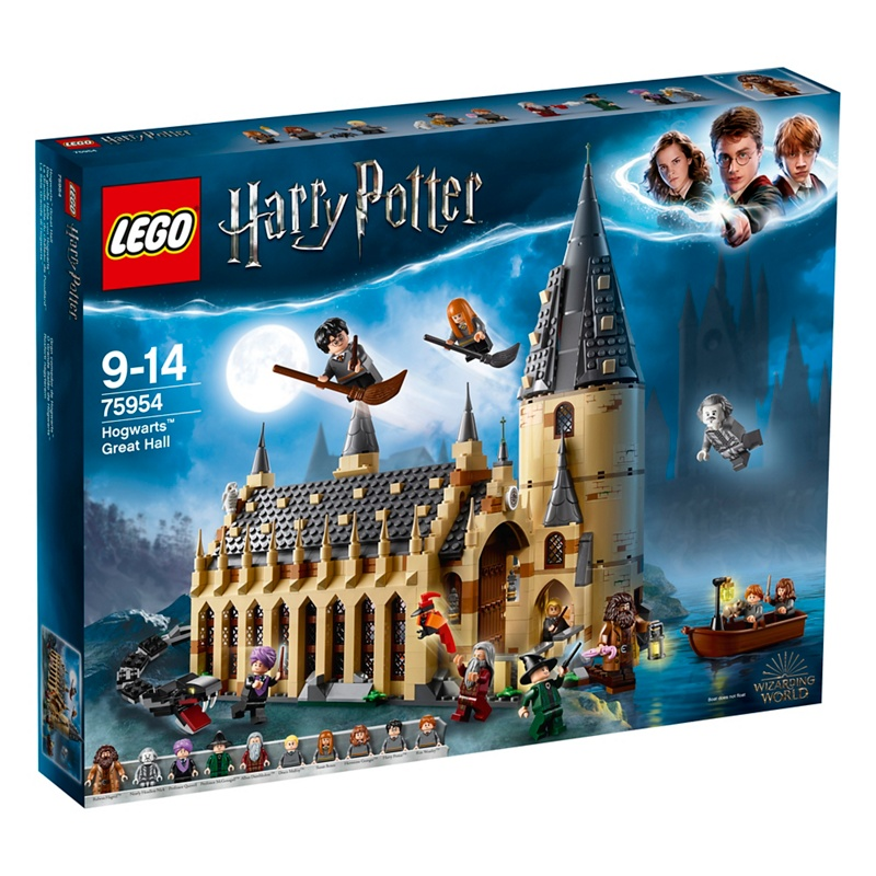 LEGO 'Harry Potter - Hogwarts Great Hall' set - 75954 - One Size - Construction toys