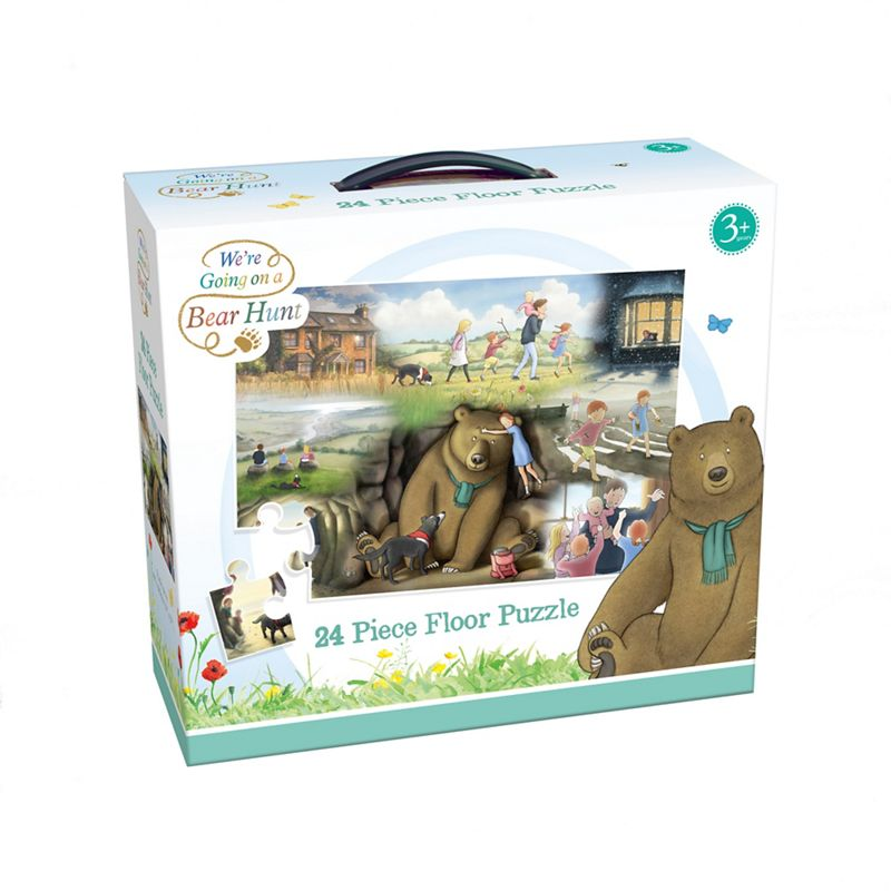 24 piece 'We're Going on a Bear Hunt' TV floor jigsaw puzzle