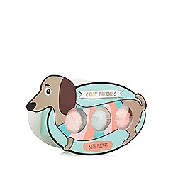 Cosy Friends - Sausage dog bath bomb set