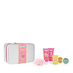 Candy Spa - Silver Glitter' vanity case gift set