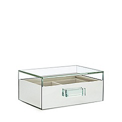 Luxe Edit - Mirrored Glass Small Jewellery Box