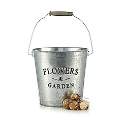 Wilson and Bloom - Large Metal Slogan Pot