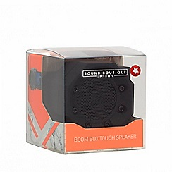 Sound Boutique - Black mini vibration speaker