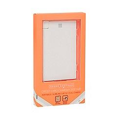 Sound Boutique - White slimline portable charger