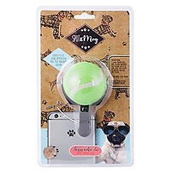 Spot & Mog - Dog selfie tennis ball phone clip