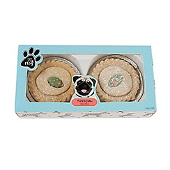 Spot & Mog - Pack of two mince pies for dogs