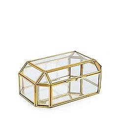Luxe Edit - Antique Brass Jewellery Box