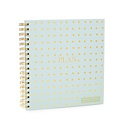Luxe Edit - Light green spotted 18 month planner agenda