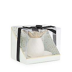 Luxe Edit - White pineapple ring holder