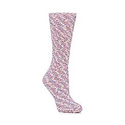 Cosy Friends - Multi-coloured textured 'Unicorn Tear' socks in a gift box