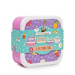 Cosy Friends - Set of four lunch boxes