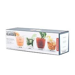 Kikkerland - Bartending Glasses