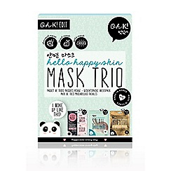 Oh K - Charcoal, Bamboo & Snail Face Masks