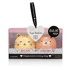 Oh K - Cat & Bear Duo Lip balm