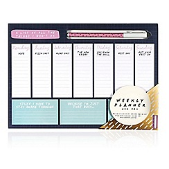 We Live Like This - Weekly Planner