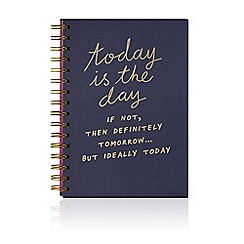 We Live Like This - A5 hardback notebook